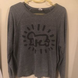 Sweaters - Obey Keith haring sweater shirt